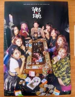 Twice Yes or Yes Posters
