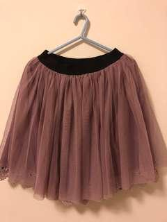 Quality tutu skirt in dusty pink (3 layers)