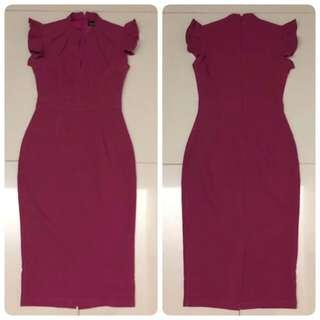 Doublewoot  Dayoux Dress (Fushia)