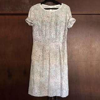 Printed vintage dress
