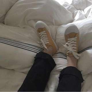 出清🔥正韓檸檬帆布鞋🍋