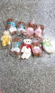 9 stuff toy bear