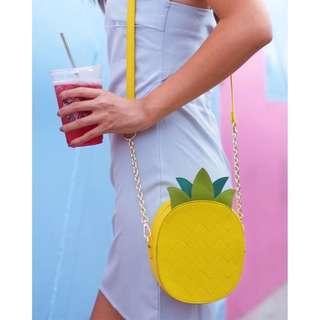 *NEW* RTP $89.90 iamkai Pineapple Vegan Leather Bag