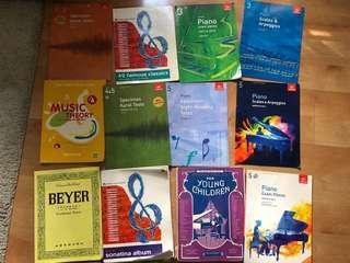 Wts Piano Music books