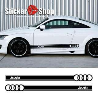 Car Graphic (Audi) - Side Stripe