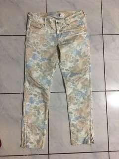 Authentic preloved H&M pants floral
