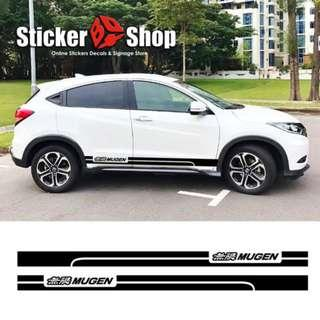 Car Graphic (Mugen) - Side Stripe