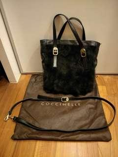 Genuine leather Coccinelle bag
