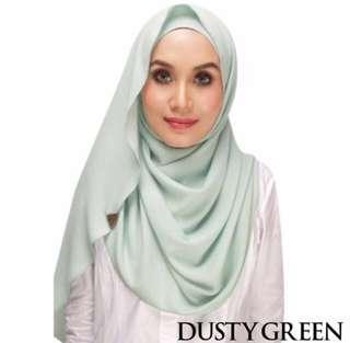 Zawara Shawl Dusty Green #singles1111