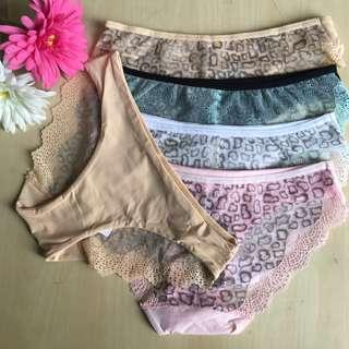 VS inspired Back Lace Panties