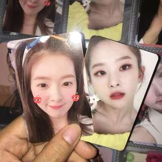 wts red velvet summer magic limited edition photocard