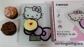 Cornell Hello Kitty Weighing Kitchen Scale