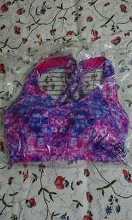 BNWT USA Pro galaxy pink sports bra size XS