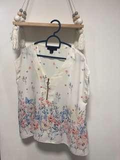 Primark floral top