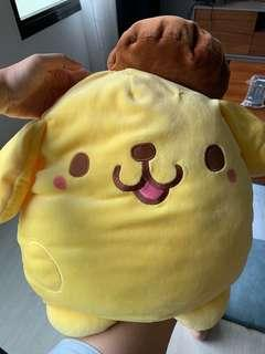 Pompurin Sanrio plush toy