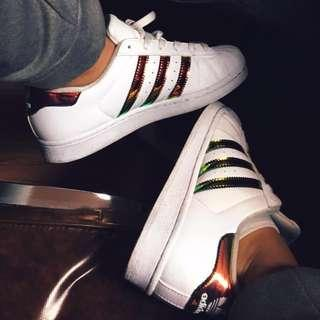 LIMITED EDITION- Adidas superstars