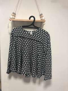 Custom made raya blouse