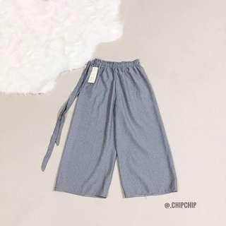 BNWT Grey Pinstripe Culottes