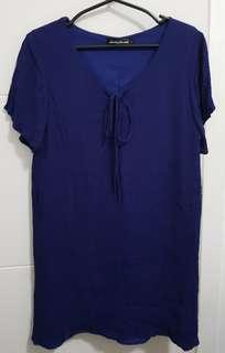 Blue dress from Something Borrowed - S