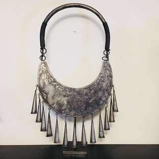 Replica Ethnic Chinese Miao Necklace on Stand
