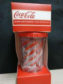 可口可樂杯 連飲管 473ml