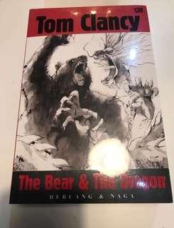 JUAL MURAH SEGEL Tom Clancy Beruang&Naga