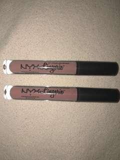 Brand new NYX lingerie (push up & bedtime flirt)