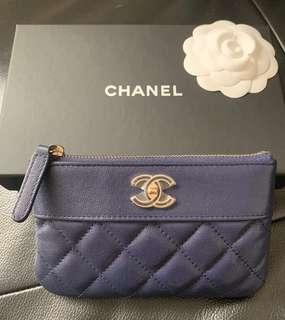 💙NEW Beautiful Chanel O Case Full Set with SG Chanel receipt 💙
