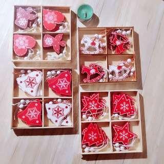 🎄Wooden Christmas Decoration (12pc / box)