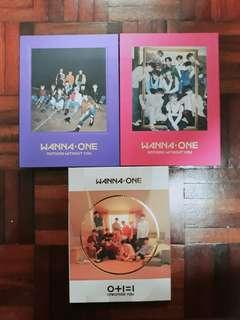 [11.11 SALE] WANNA ONE ALBUM COLLECTION