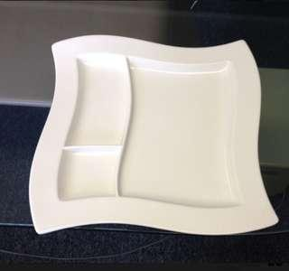 Villeroy and Boch New Wave Plate (x2)
