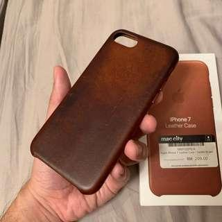 Iphone 7 leather Casing (ori)