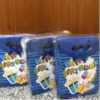 Birthday Party Goodie Bag (BLUE)