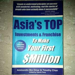 Asia's Top Investment and Franchise To Make Your First Million