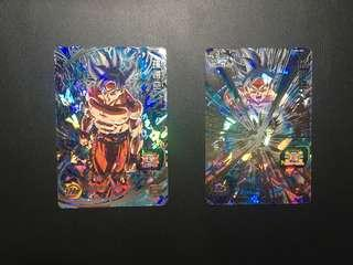 龍珠hero 4星secret 卡um1'um4極意悟空(全新)單一買各$390
