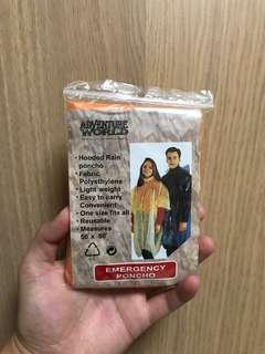 Waterproof rain proof lightweight emergency poncho