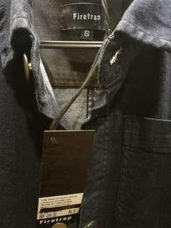 New Firetrap Denim Jacket Dark Blue #SBUX #SINGLES1111