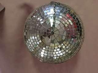 54 cm Disco Ball-  with metal chain