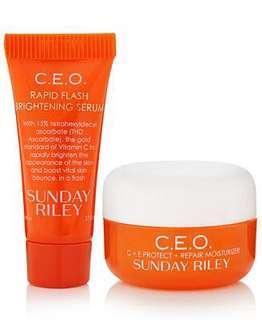 Duo Sunday Riley serum 5ml + cream 5ml