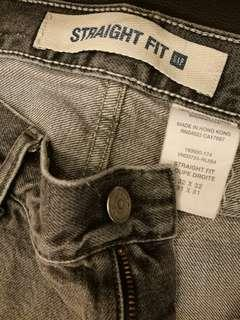 Original Gap 1969 Straight Fit Grey #SBUX50 #SINGLES1111
