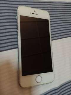 [SPARE PARTS ONLY] USED Silver iPhone 5s