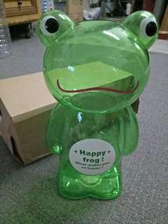 Big Size Happy Frog CoinBox