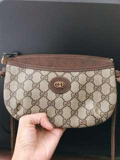 🚚 Gucci vintage 正品 古董包 斜背包 小包
