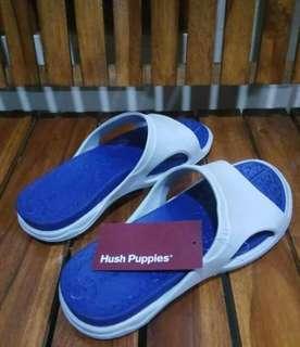 Sandal hush pupies slip on original  💯%