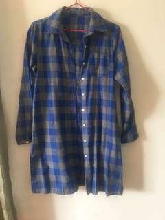 🔖(降價)冬季衣物出清-長版襯衫外套