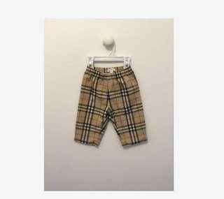 Burberry Plaid Summer Pants