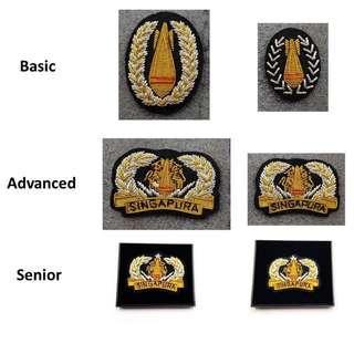 EOD Badges No.1 Basic / Advanced / Senior $19.90. EOD Badges No.2 Basic / Advanced / Senior $16.90.