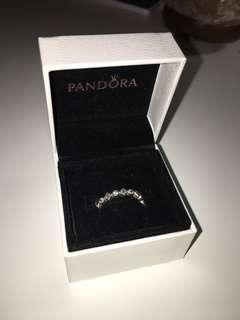 Pandora Princess Stackable Ring