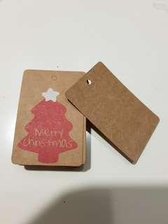 Merry Christmas Xmas Gift Tag Carf