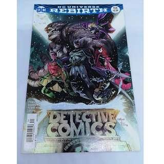 DC Universe Rebirth Detective Comics #934